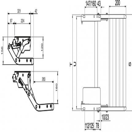 Thule Single Step 12 V 550